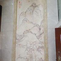 大型噴畫 油畫布裝飾 製作