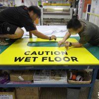 貼紙裝飾 噴畫 廣告工程