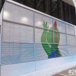 玻璃網貼 廣告工程